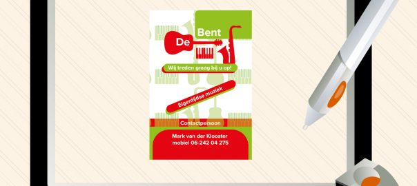 De bent bc breed in vorm