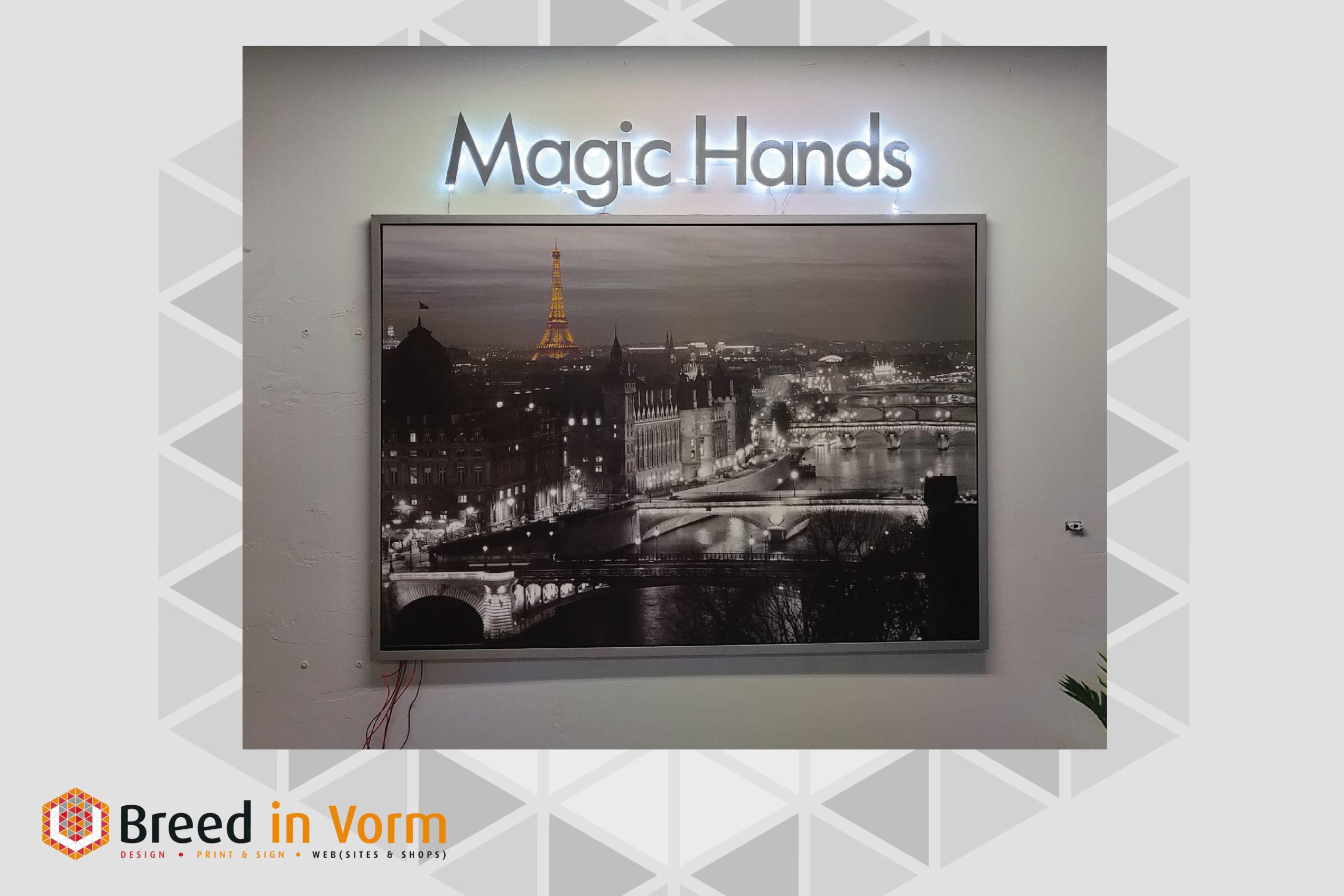 Magic Hands Letters - breedinvorm.nl