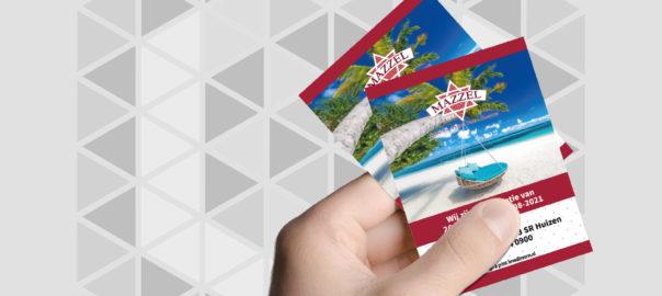 Showase Mazzel A6 flyers