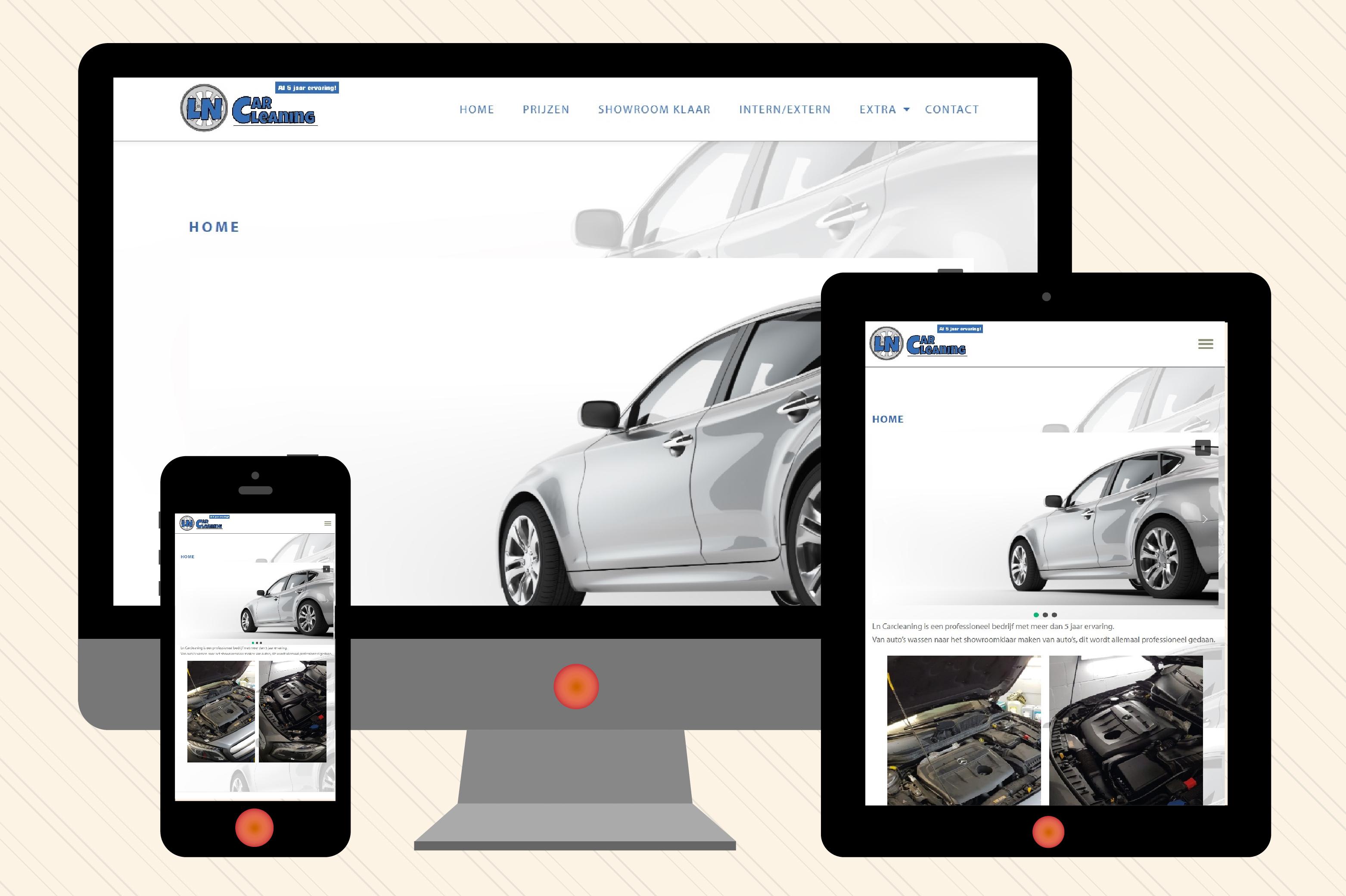 ln carcleaning webdesign breedinvorm.nl