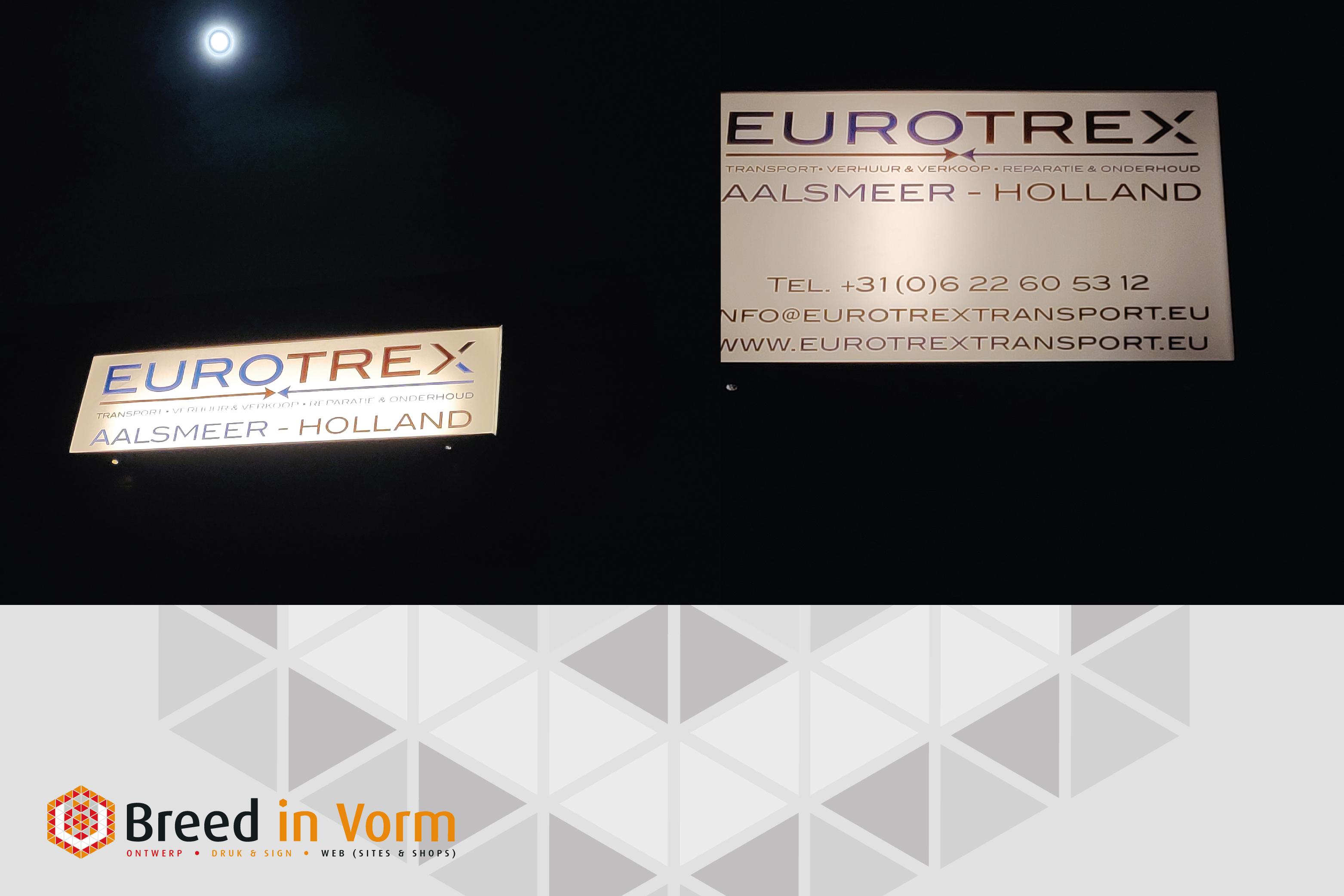 lichtbakken eurotrex breedinvorm.nl