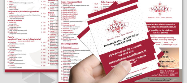 mazzel flyers en brochures